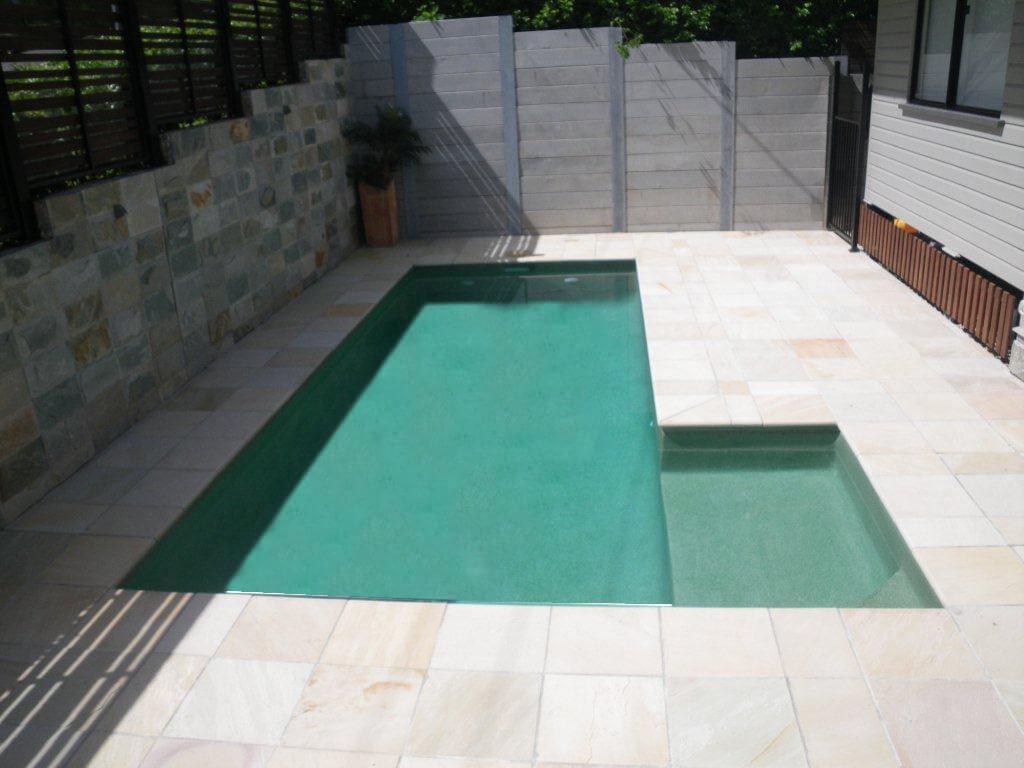 Coromandel Green Pebble Pool
